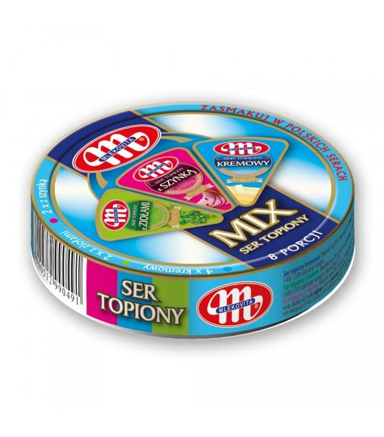 Mlekovita Processed Creamy Cheese MIX - 140g (exp. 24.01.20)