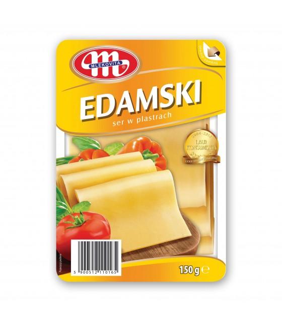 Mlekovita EDAMSKI Edam cheese slices -150 g (exp. 25.12.19)
