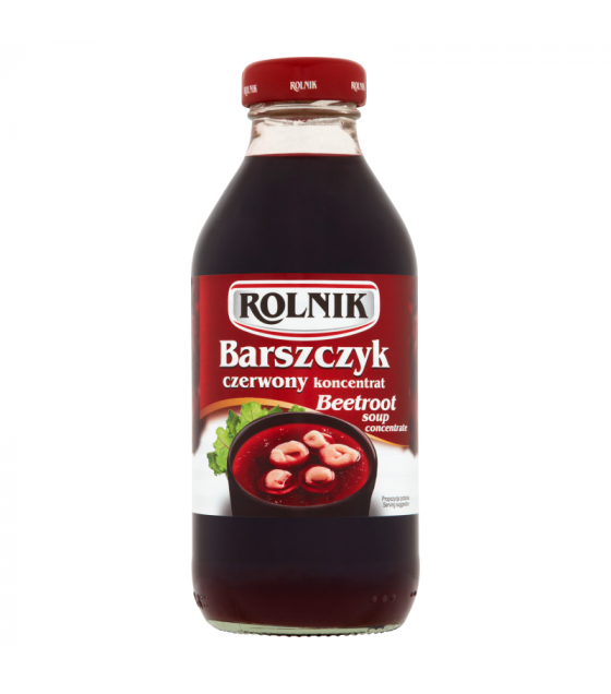 ROLNIK Beetroot Soup Concentrate - 330g (best before 30.10.21)