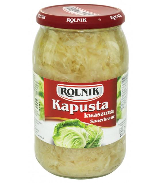 ROLNIK Sauerkraut (Kapusta Kwaszona) - 900g (best before 07.04.22)