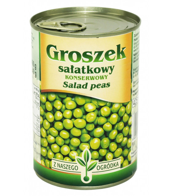 ROLNIK Green Salad Peas - 425g (best before 30.07.22)