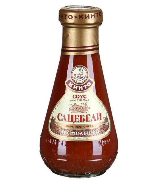 """Kinto sauce """"Sacebeli Zastolny"""" - 300g (exp. 03.07.20)"""