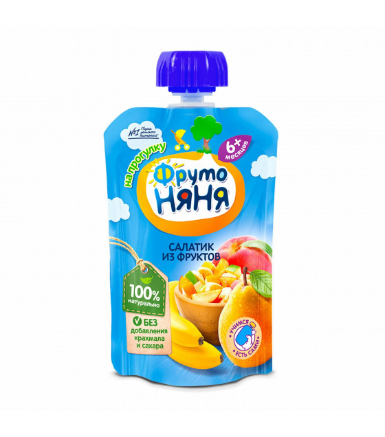 FRUTO-NANYA Puree Fruit Salad (from 6 months) - 90g (best before 23.04.22)