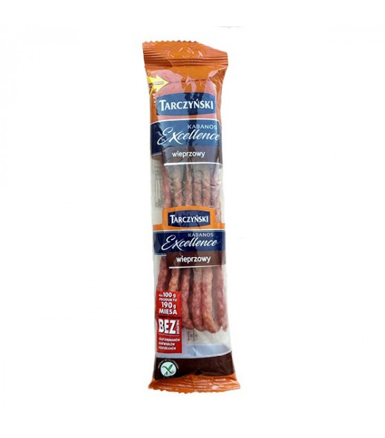 TARCZYNSKI Kabanos Exclusive Pork Smoked Sausages - 115g (exp. 25.04.20)