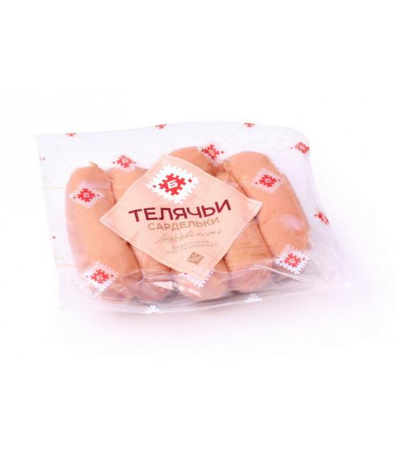 """BREST MEAT Sausages SARDELKI """"Telyachie"""" (weight) - around 470g (best before 15.03.21)"""