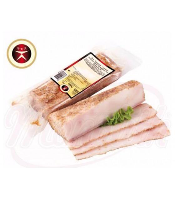 """STEINHAUER Pork Lard """"Salo Ukrainskoe s Chesnokom"""" - around 350g (weight) (best before 08.09.21)"""