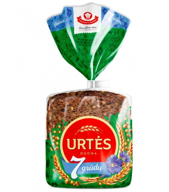 """Urtės"" 7 Grains Dark Rye Bread - 300 g"