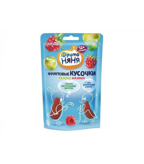 "FRUTO-NANYA Snack ""Small Fruit Bites"" Apple-Raspberry (from 12 months) - 12g (best before 23.03.22)"