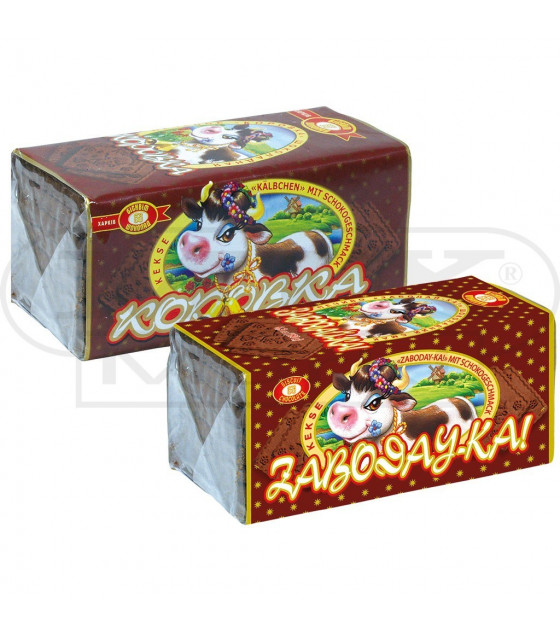 """Biscuits """"Zaboday-ka!"""" with a taste of Chocolate- 180g (best before 13.01.22)"""