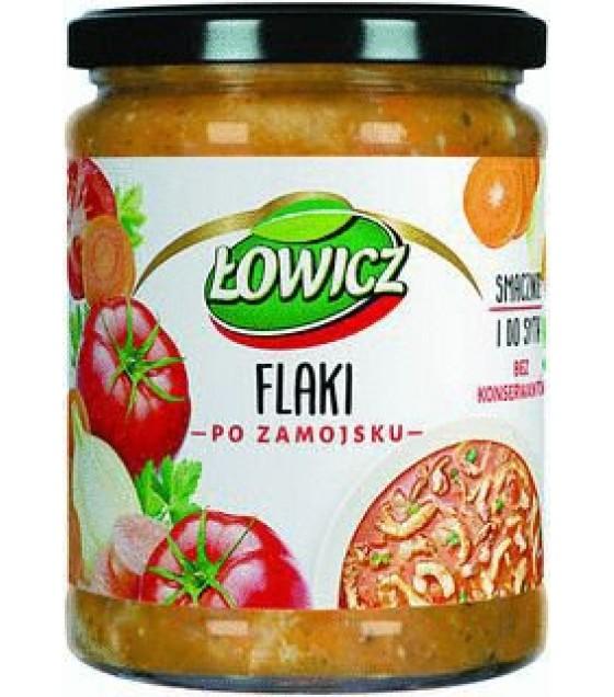 "LOWICZ Tripe in Bouillon ""Flaki Po Zamojsku"" - 500g (exp. 26.06.21)"