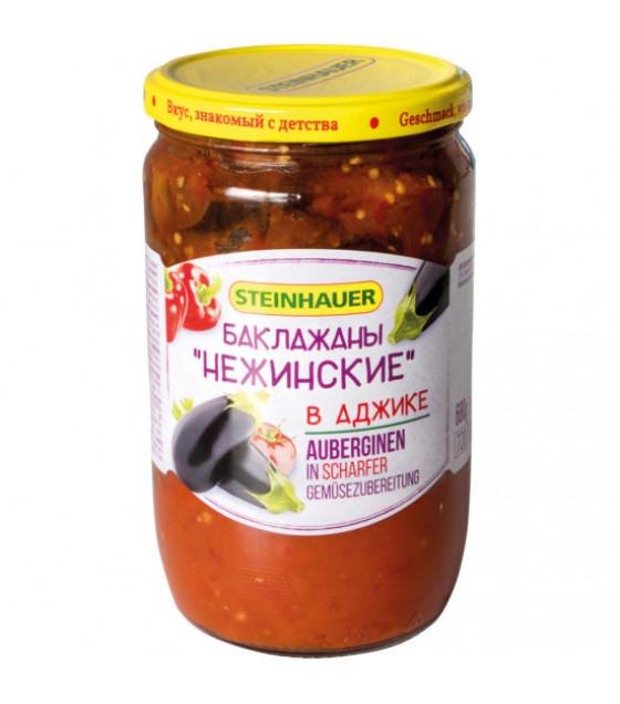 """STEINHAUER Eggplants in Spice Vegetable Preparation Adjika """"Nejinskie"""" - 720g (best before 26.09.21)"""