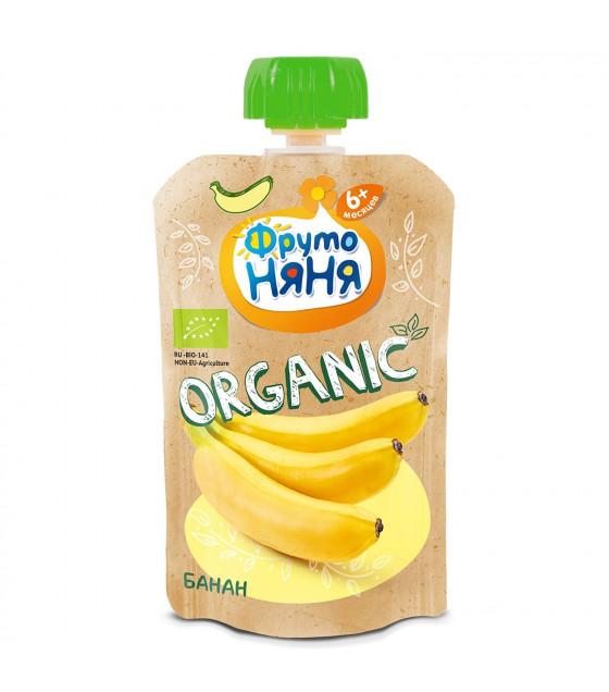 FRUTO-NANYA Puree Organic Banana (from 6 months) - 90g (best before 16.03.22)