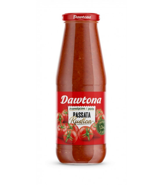 DAWTONA Tomato Passata Puree with Basil - 690g (best before 11.09.23)