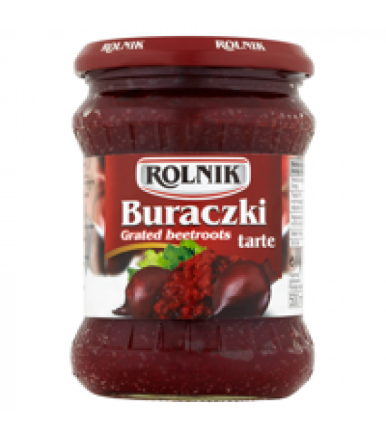 ROLNIK Grated Beetroot (Tarte) - 500g (best before 15.07.22)