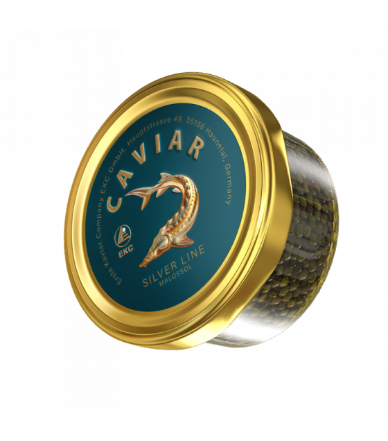 EKC Sturgeon Caviar (Osetr) Silver Line - 50g (best before 01.08.21)