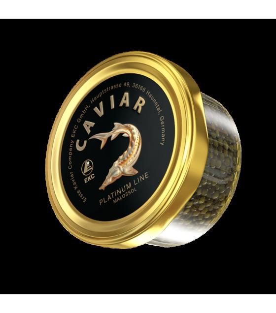 EKC Sturgeon Caviar (Osetr) Platinum Line - 50g (best before 01.08.21)