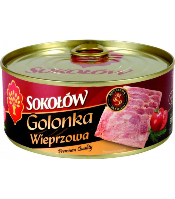 "SOKOLOW Pork Knuckle ""Golonka Wieprzowa"" - 300g (best before 13.03.22)"