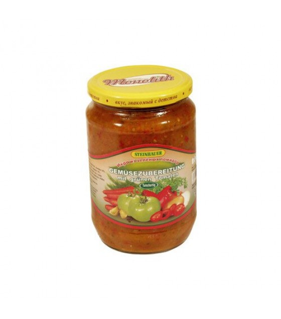 STEINHAUER Chopped Bell Pepper With Vegetables - 710g (exp. 26.10.21)