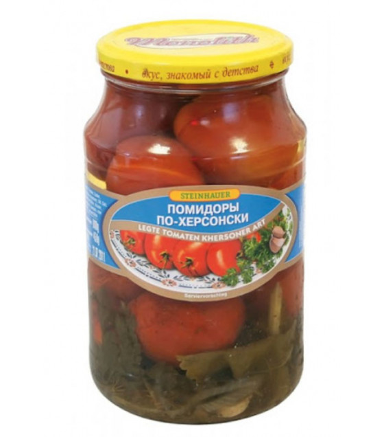 "STEINHAUER Pickled Red Tomatoes ""Po Hersonski"" - 850g (best before 06.08.22)"