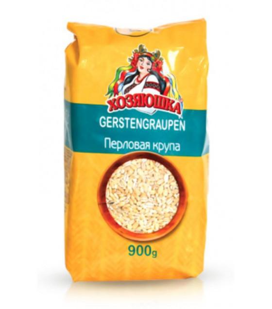"""STEINHAUER Pearl Barley Groats """"Hozyiaushka"""" - 900g (best before 06.08.21)"""