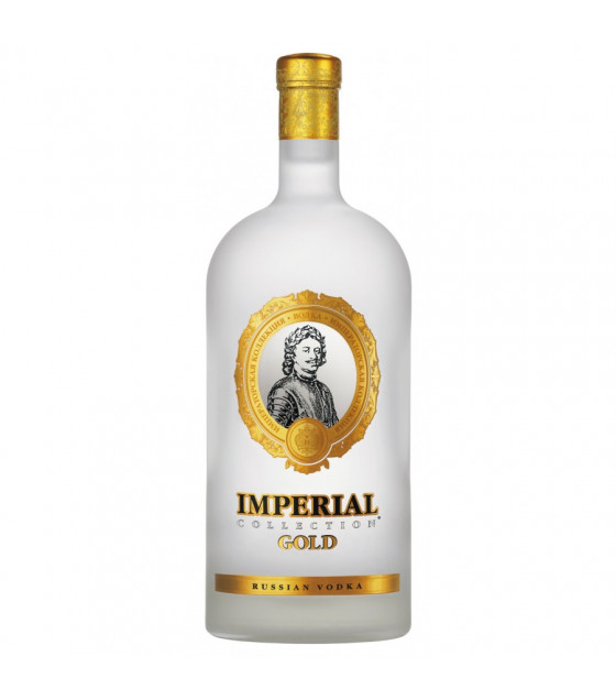 Vodka IMPERIAL Collection Gold 40% - 0,5L