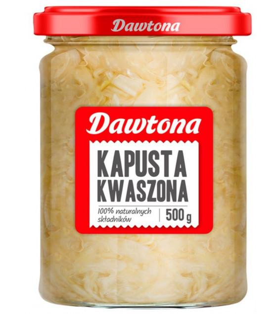 DAWTONA Sauerkraut (Kapusta Kwaszona) - 500g (best before 30.04.22)