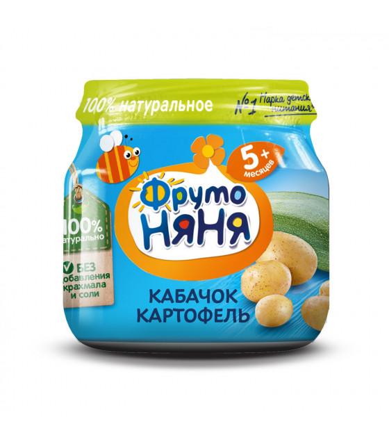FRUTO-NANYA Puree Zuccini-Potato (from 5 months) - 80g (best before 27.04.22)