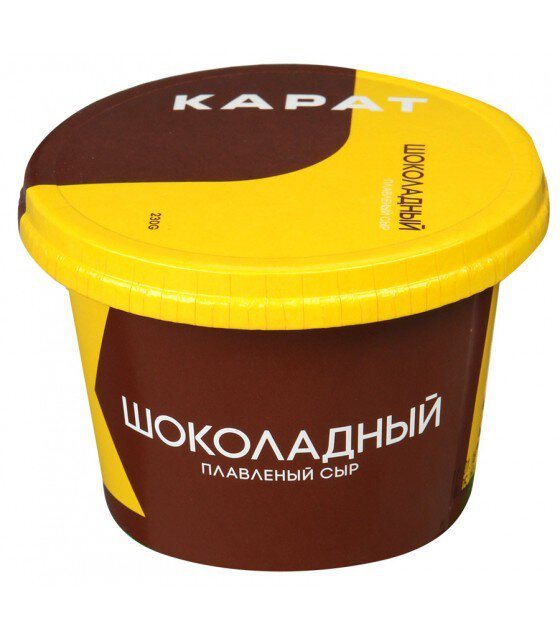 KARAT Processed Choсolate Cheese 30% - 230g (exp. 08.06.20)