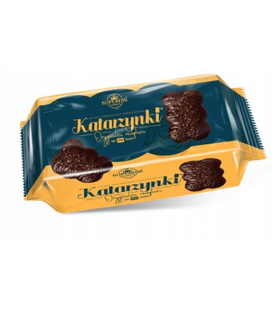 KOPERNIK KATARZYNKI Chocolate Covered Heart Gingerbread (2 pcs) - 56g (best before 30.11.21)