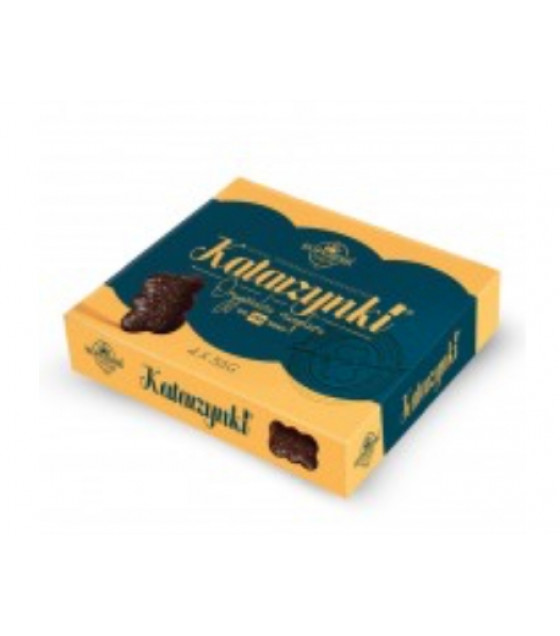 KOPERNIK KATARZYNKI Chocolate Covered Heart Gingerbread (Gift Set) - 224g (best before 30.11.21)