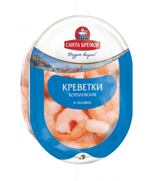 SANTA BREMOR Royal Shrimps in Brine - 200g (best before 17.12.20)