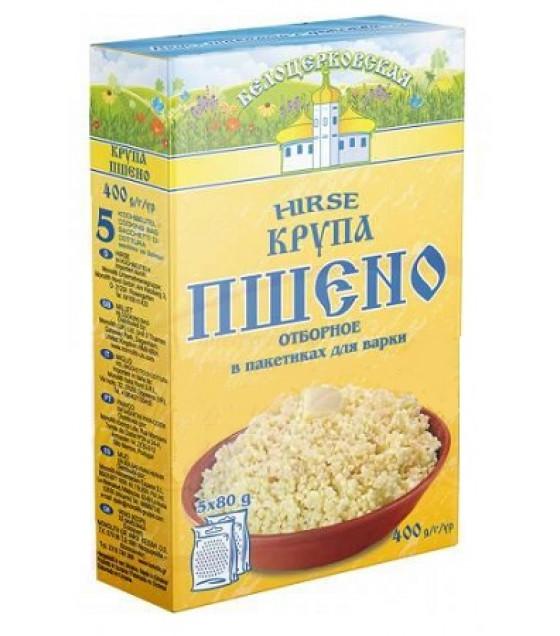 "STEINHAUER Millet Cereals ""Belotserkovskaya"" (Hirse) in bags 5x80g - 400g (best before 20.06.21)"