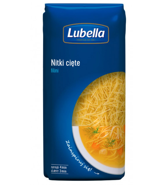 LUBELLA Pasta Filini (pasta No. 2) - 400g (best before 16.05.23)