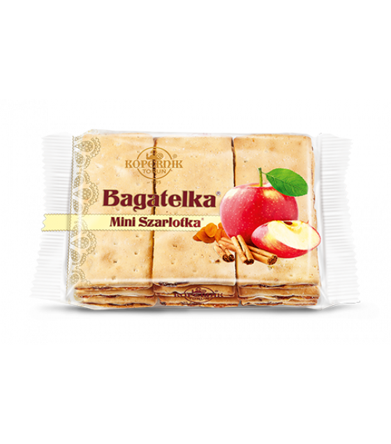 KOPERNIK Biscuits with Raisins, Apple Flavoured Filling and Cinnamon - 135g (best before 30.08.21)
