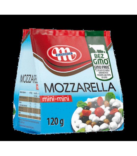 Mlekovita MOZZARELLA MINI Cheese  - 120g (exp. 24.02.20)
