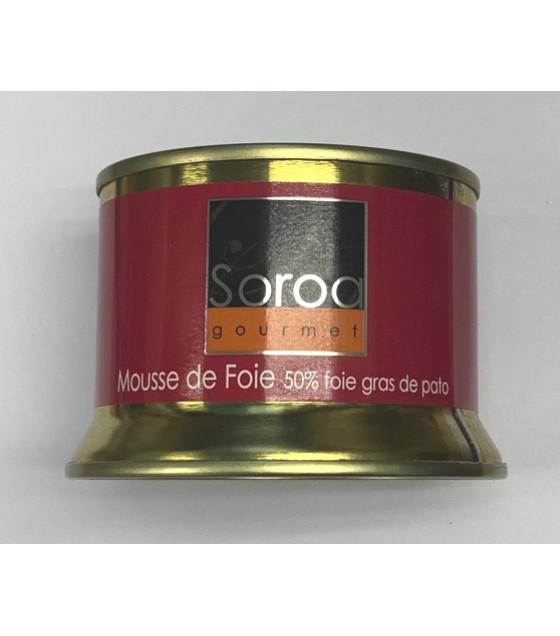 SOROA Mousse De Foie (50% foie gras de pato) - 130g (best before 15.01.25)