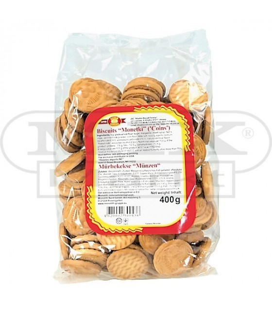 "STEINHAUER Biscuits ""Monetki""  - 400g (best before 29.01.22)"