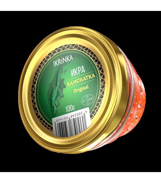 EKC KAMCHATKA Pink Salmon Caviar (Gorbusha) Glass Jar - 100g (best before 01.08.21)