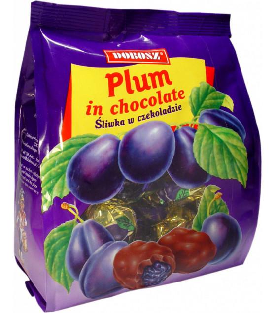 "DOBOSZ Candies ""Plum in Chocolate"" (Sliwka w Czekoladzie) - 300g (best before 12.02.22)"