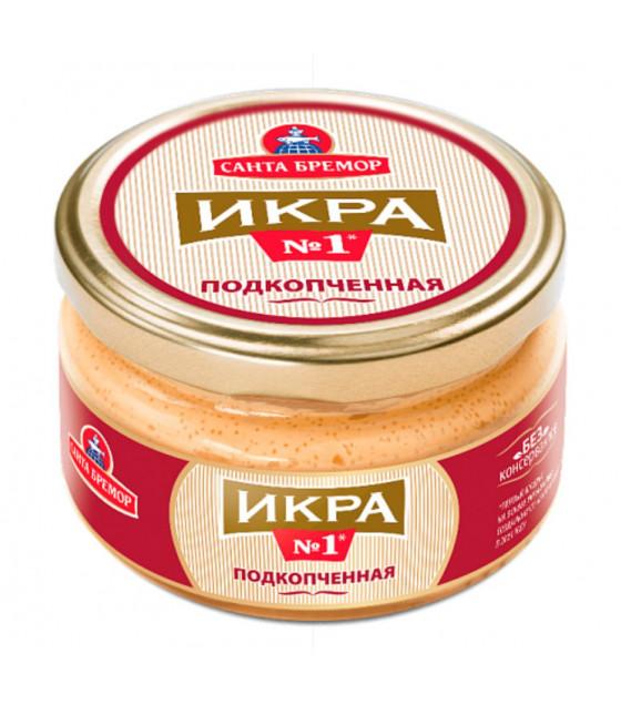 "SANTA BREMOR Delicacy Capelin Caviar ""Slightly Smoked"" - 180g (best before 22.07.21)"