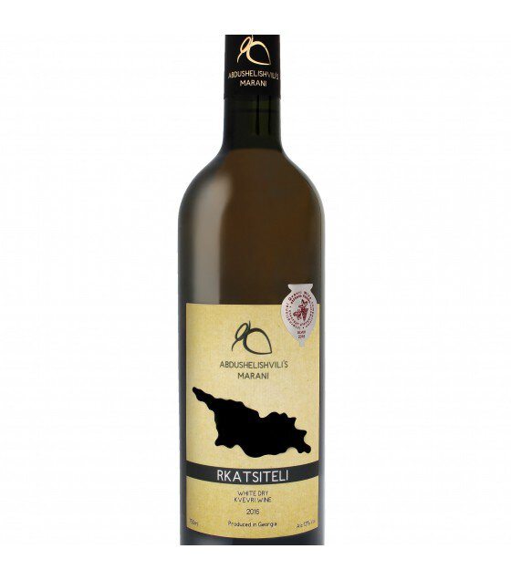 UCHA MACHARASHVILI'S MARANI Tcolikouri White Wine (Georgia) 2018 - 0,75L