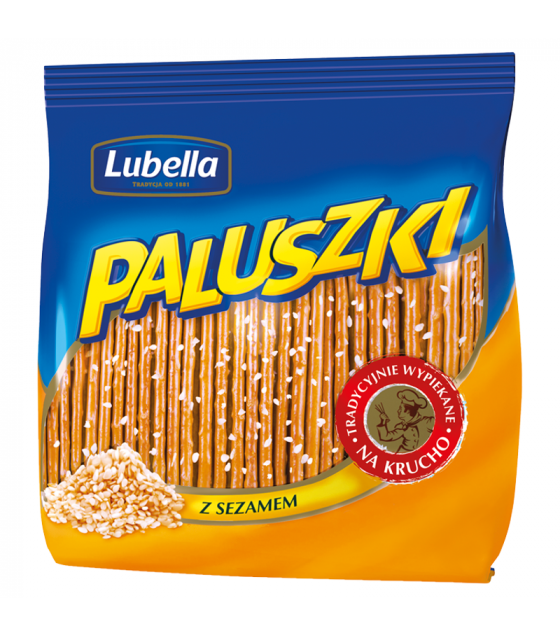 LUBELLA Sticks with Sesame Seeds - 275g (best before 22.08.21)