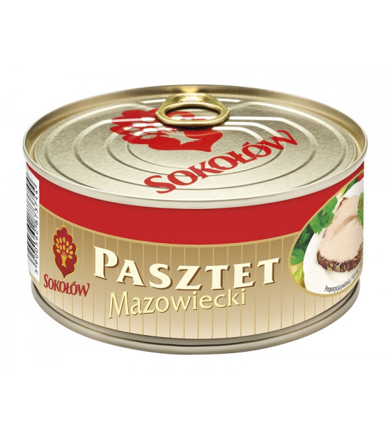 SOKOLOW MAZOWIECKI Pate Tinned Pork - 290g (best before 28.03.21)