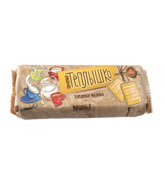 """SPARTAK Cookies """"Tyoplyshko"""" with Baked Milk Flavor - 200g (best before  28.08.21)"""