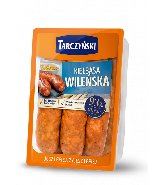 "TARCZYNSKI Vilnus Sausage""Kielbasa Wilenska"" - around 700g (weight) (best before 24.10.20)"