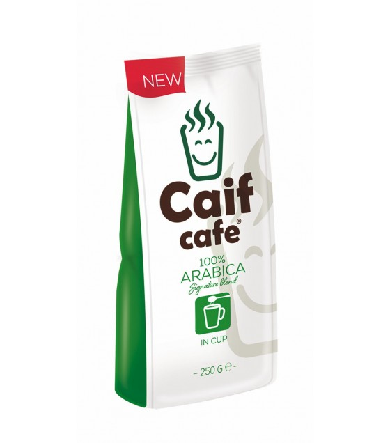 CAIF Ground Coffee Signature Blend Arabica - 250g (exp. 15.01.21)