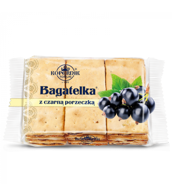KOPERNIK Biscuits with Raisins and Blackcurrant Flavoured Filling - 135g (best before 30.08.21)