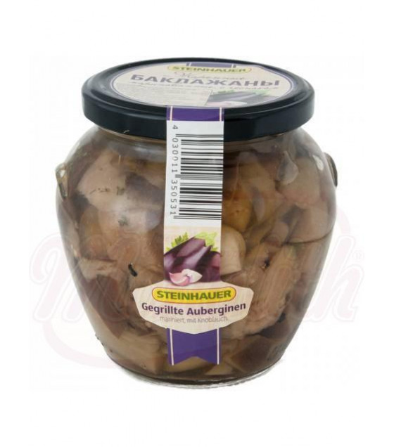 STEINHAUER Roasted Pickled Eggplants With Garlic - 530g (best before 30.11.22)
