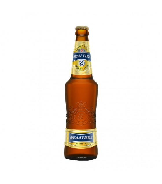 "Wheat Beer ""Baltika N 8"" 5,0% (bottle) - 470ml (best before 24.05.21)"