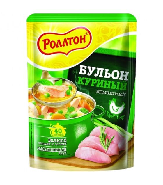 "ROLLTON Chicken Bouillon ""Domashniy"" - 100g (best before 29.03.21)"